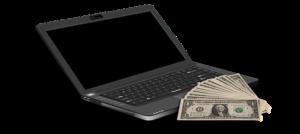 Tjäna pengar online med hjälp av datorn